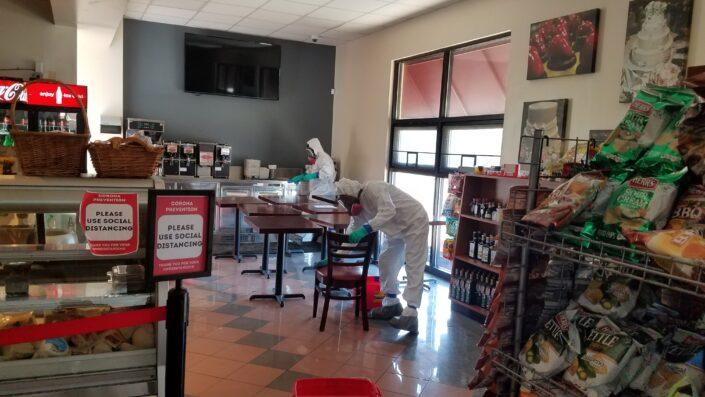 Business Sanitizing & Disinfecting